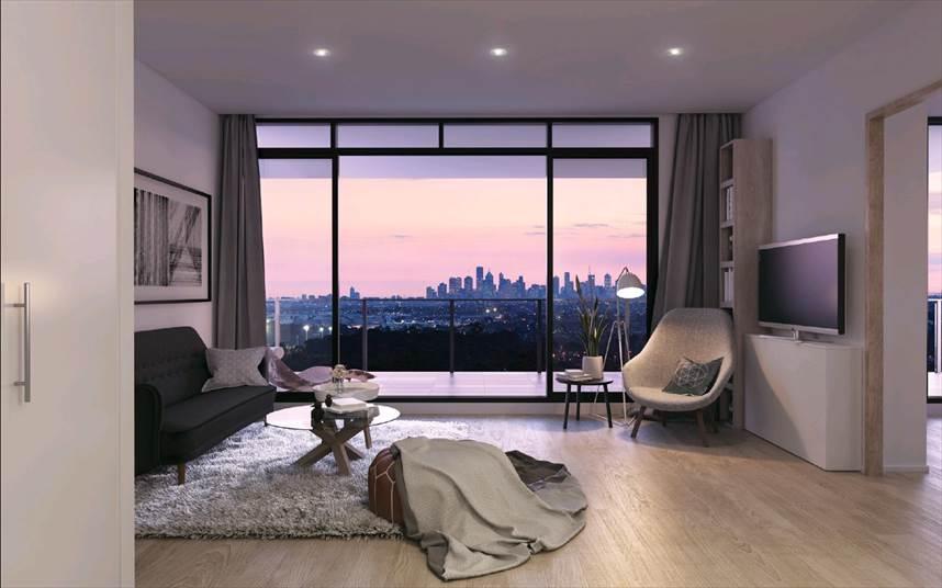 City views from Bundoora Apartments