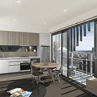 Modern Interiors in Box Hill Apartments