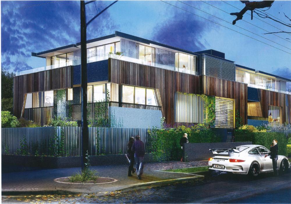 Artist Impression of Hawthorn Apartments