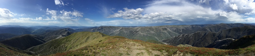 View From Mt Feathertop By Darryl Simms Dec 2014