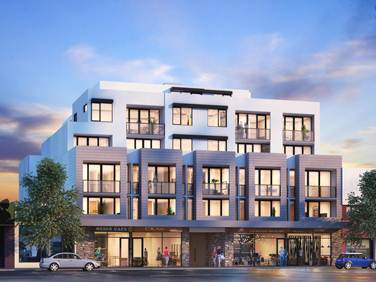 Artist impression of new Brunswick Apartments