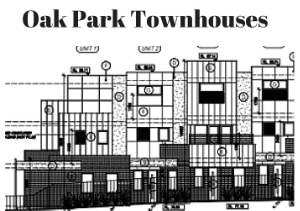 Off The Plan 3 level townhouses in Oak Park $529,000