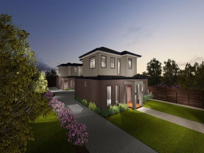 New Townhouses: Box Hill South
