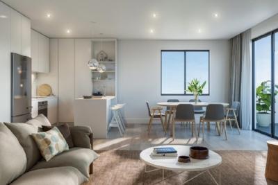Interior of new Brunswick Apartments