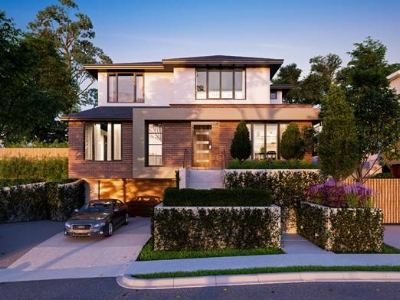 Exterior of Balwyn Townhouses