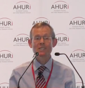 Professor Hal Pawson is hoping the government goes ahead with the 'bond aggregator'.  Photo: Youtube