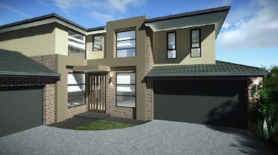 Planned Exterior of Mount Waverley Townhouse