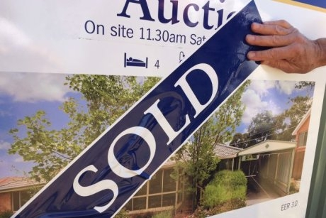 The market is dominated by those who already own a home and want an investment property.  ABC NEWS: IAN CUTMORE