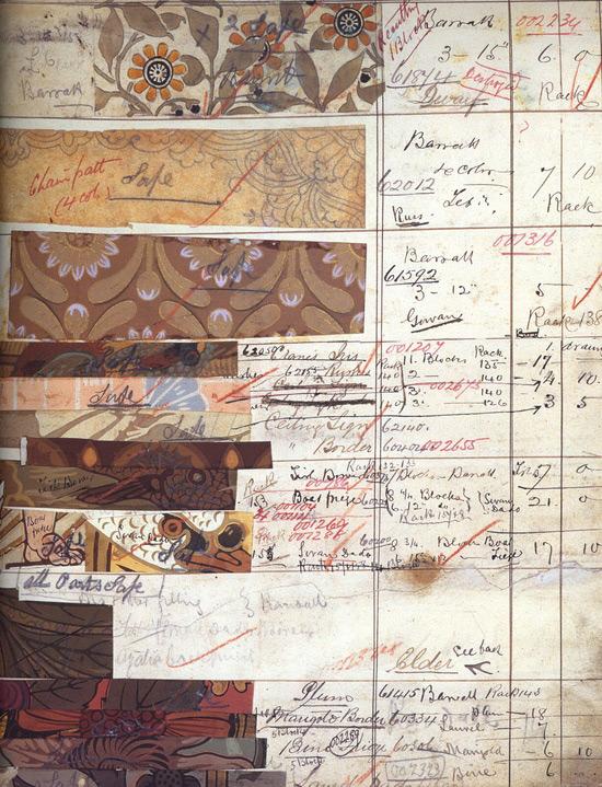William Morris pattern sheet