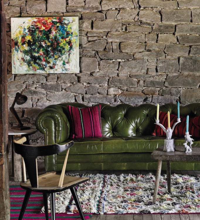 Anthropologie Atelier Chesterfield sofa