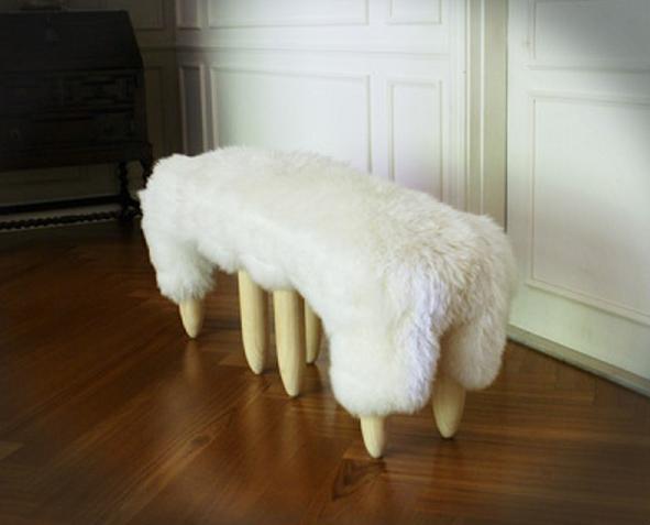 Relation sheep bench