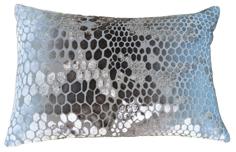 Cut velvet snakeskin print pillow $115 (estimated value $250)