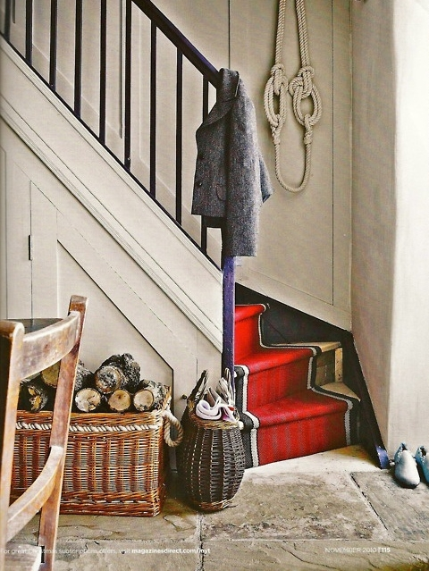 by Roger Oates Design, via British Homes & Gardens, Nov. 2010