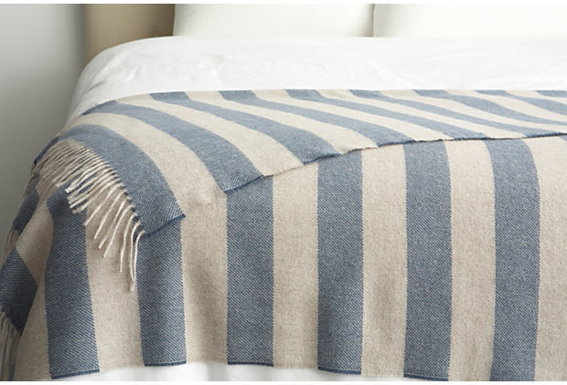Dwell Studio Draper Stripe throw $198