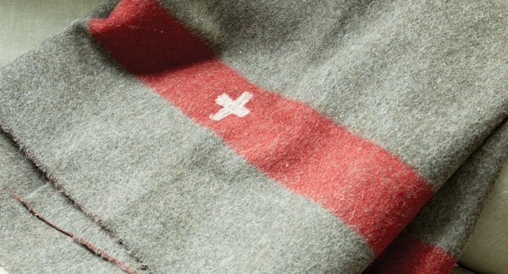 Swiss Army blanket $298
