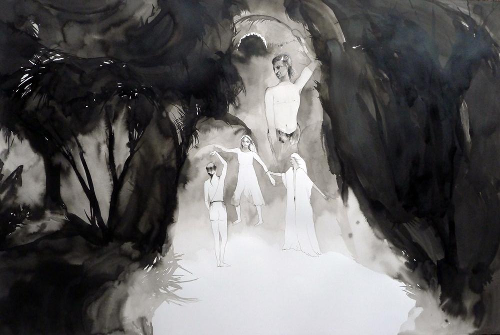 Sisterhood of the Night 2012 (ink)