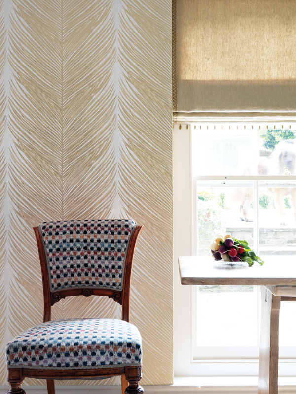 Mey Fern wallpaper by Nina Campbell for Osborne & Little