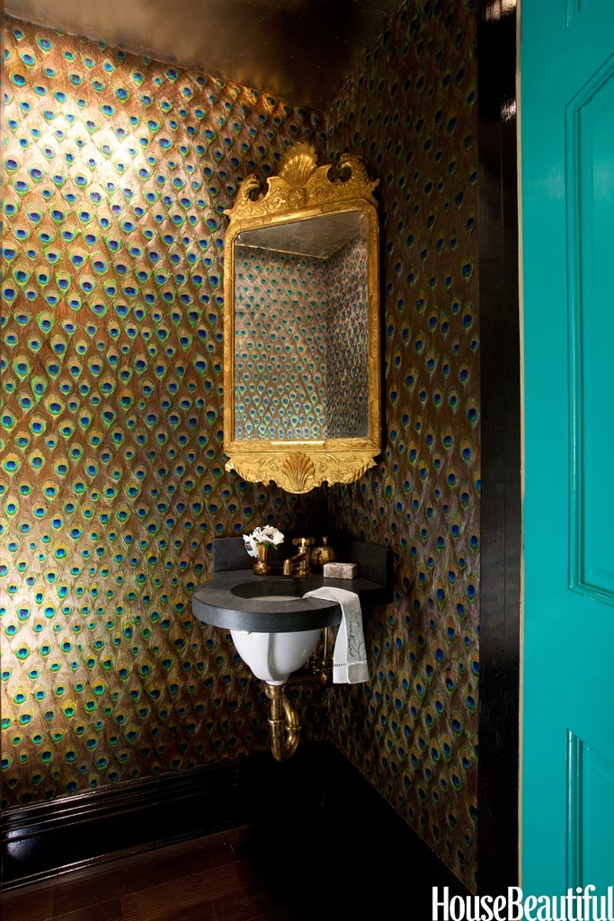 Pretty powder rooms coombs design Pretty powder room ideas