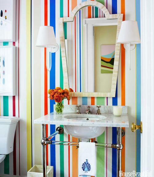 design by Sara Gilbrane, photo by Francesco Lagnese, via House Beautiful
