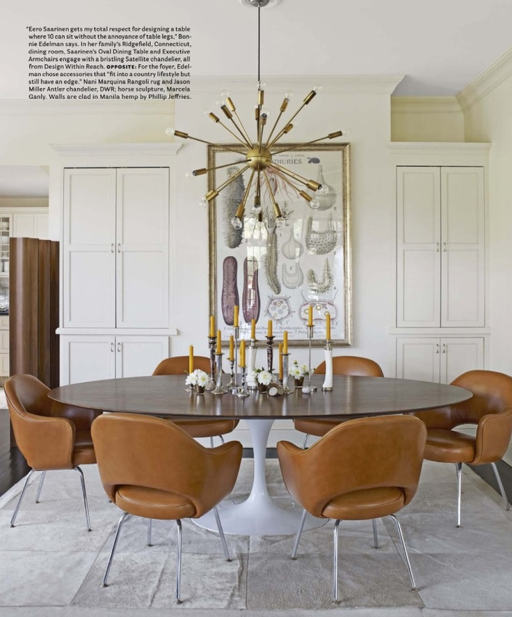 home of Bonnie Edelman, via House Beautiful, April 2012