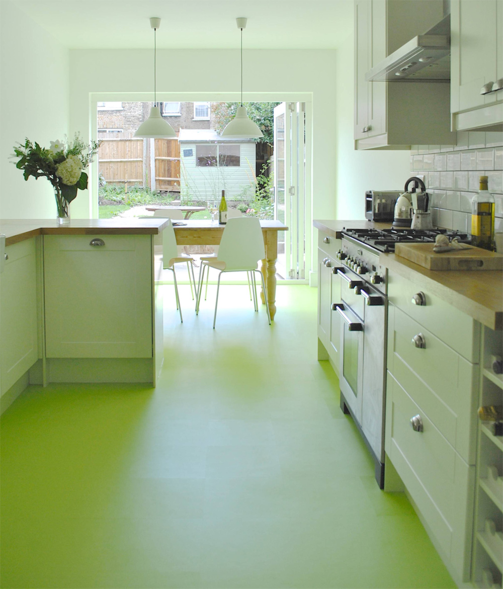 Gorgeous green floors coombs design for Green flooring ideas