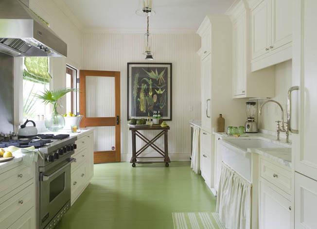 Gorgeous Green Floors Sarah Coombs Design