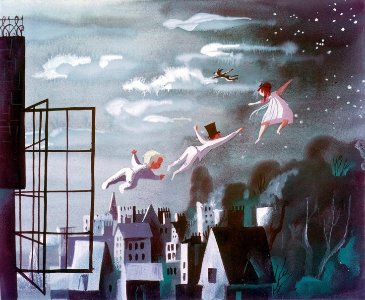 concept art for  Peter Pan  (1953)