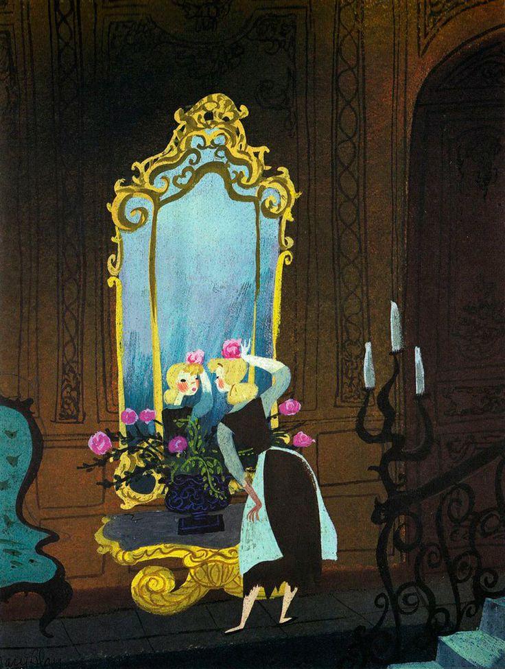 concept art for  Cinderella  (1950)