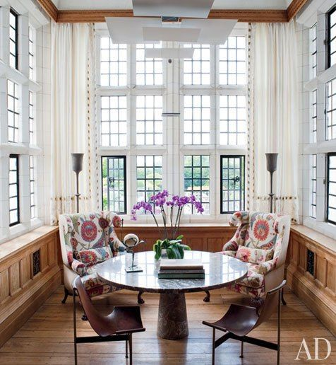 design by Robert Couturier via Architectural Digest