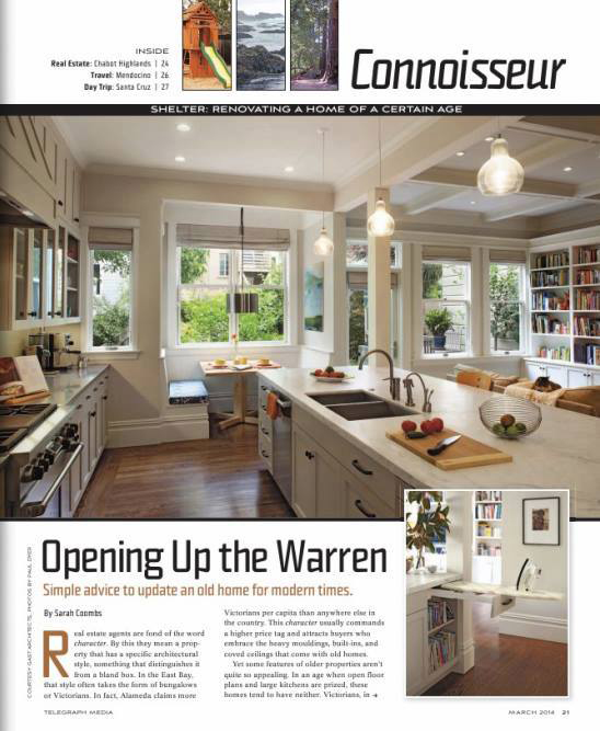 Oakland Magazine  March 2014