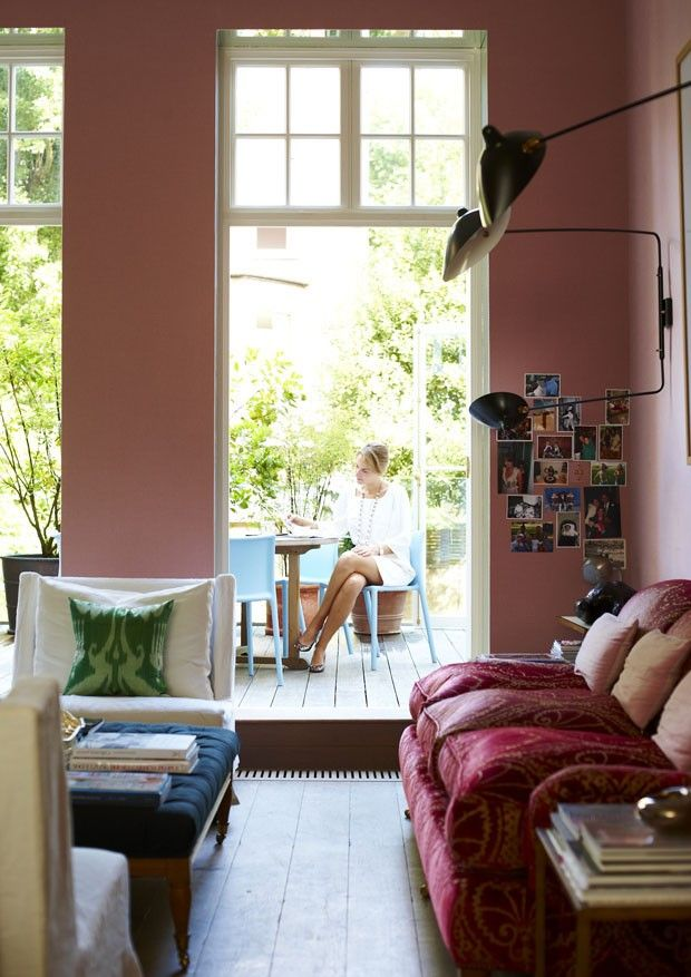home of Christine d'Ornano via  Vogue Australia Living
