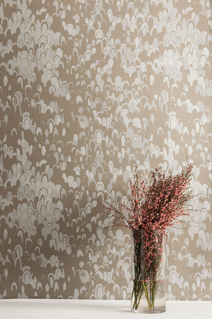 Geodes wallpaper in Pyrite