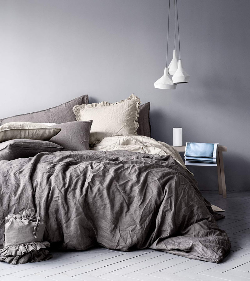Linen duvet cover set $69.95