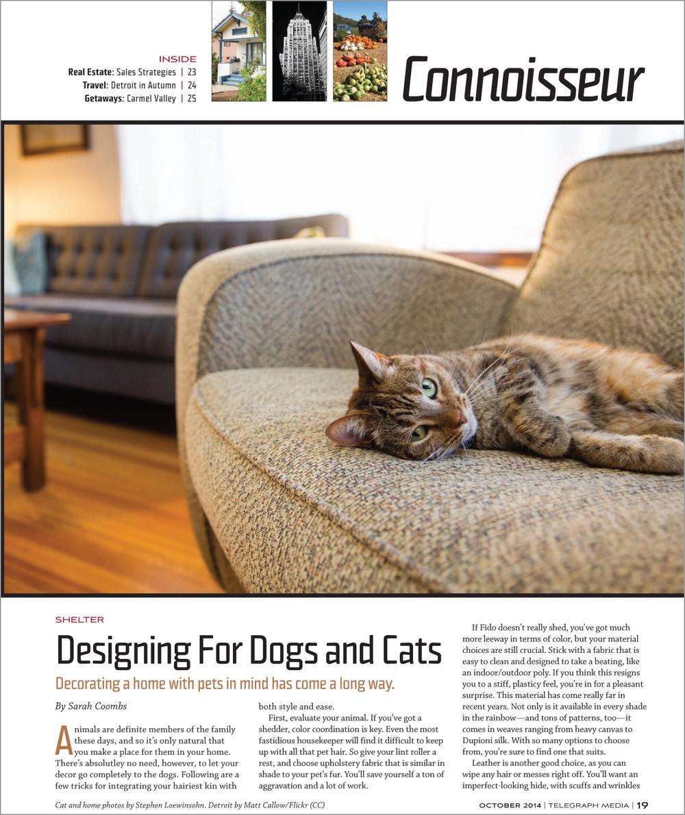 Alameda Magazine, October 2014