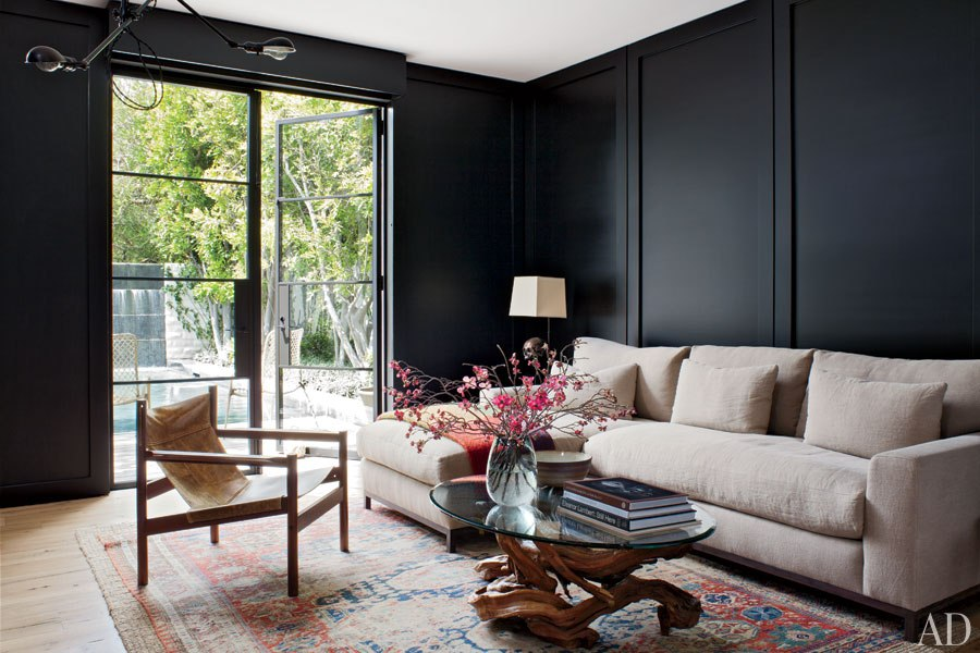 Home of Jenny Kayne via  Architectural Digest