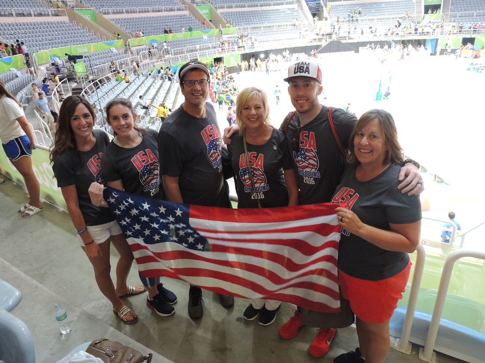 Team USA ready to rumble!