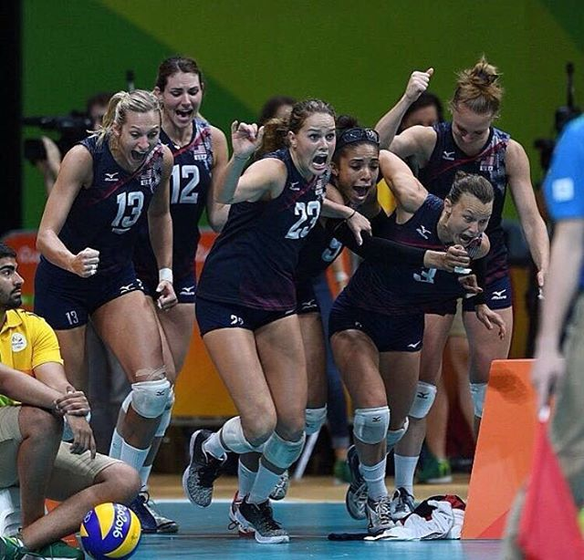 The JOY that Olympic Day reminds me of! #olympicday All the best to the team in their quest for VNL gold this week! Get some!