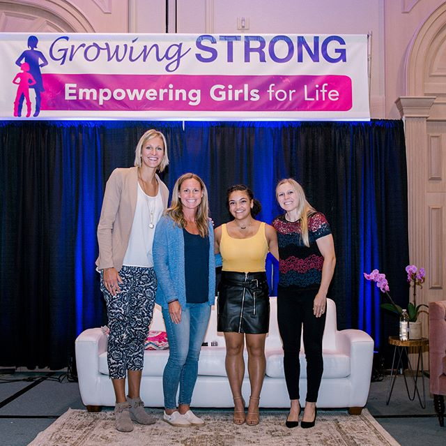 So fun to be surrounded by and learn from some of the best in female athletics last weekend at the @empoweringgirlsforlife conference!