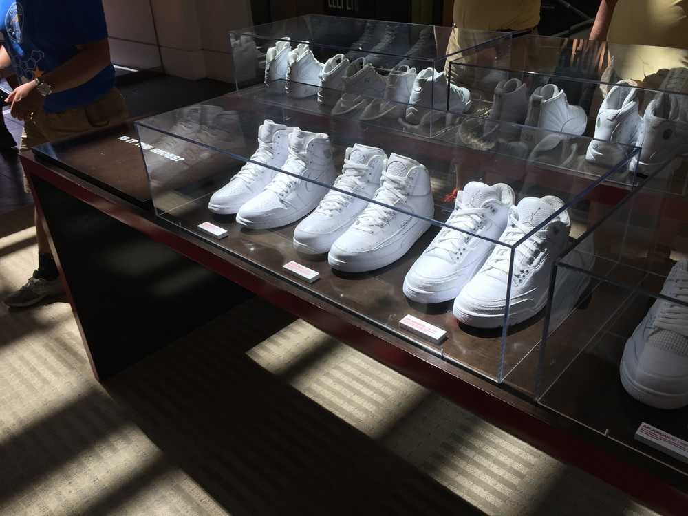 The first 23 Air Jordan's in pure white of course