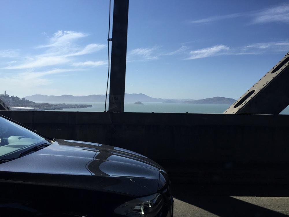 That little island is Alcatraz