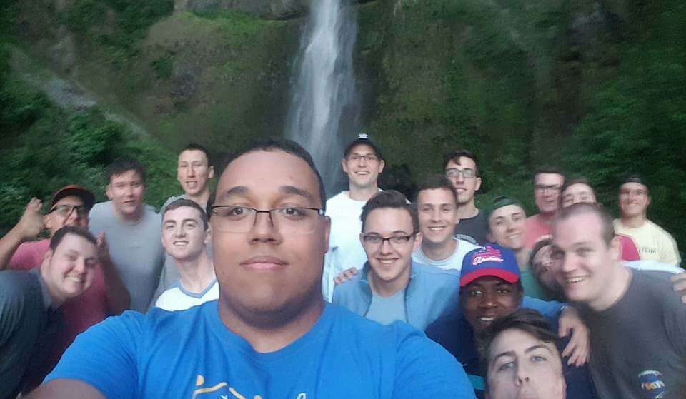Most of the Crew gents at Multnomah