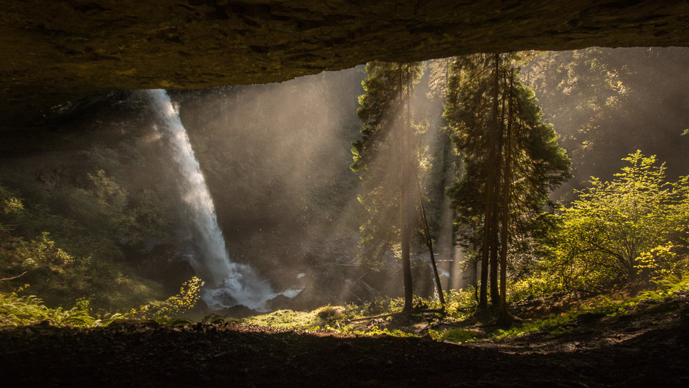 Silver Falls State Park.
