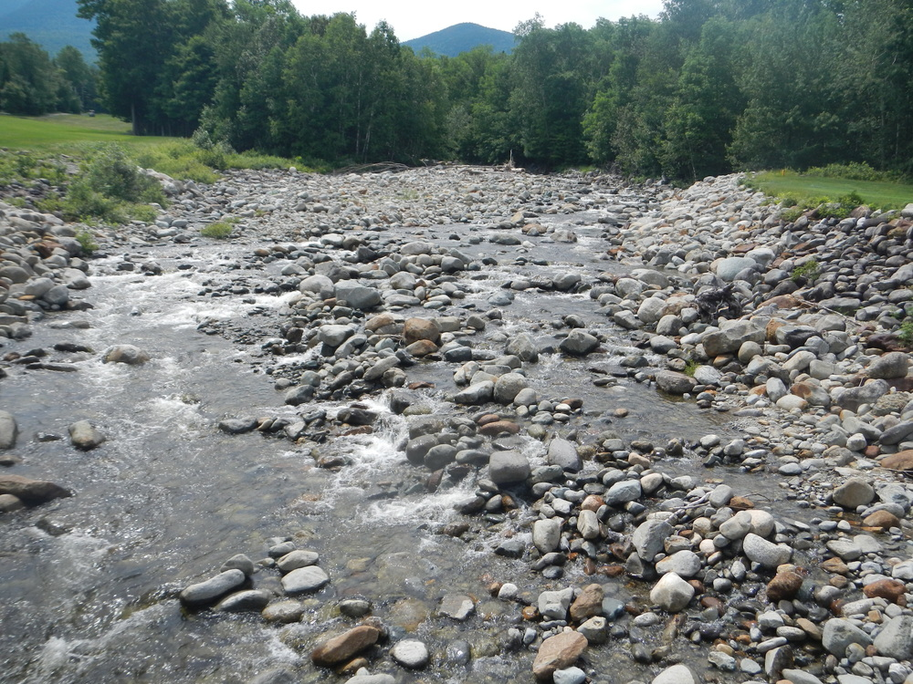 Streambed rocks on Sugarloaf Mountain, Maine (Photo: Mimi Stadler 2014)