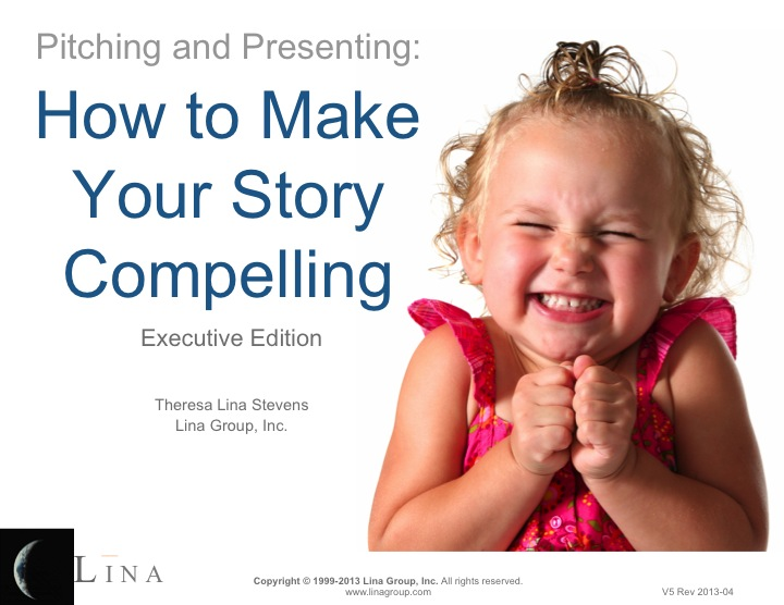 Learn a simple framework for transforming your pitches and presentations into stories the audience can't get enough of. Get the eBooklet>>