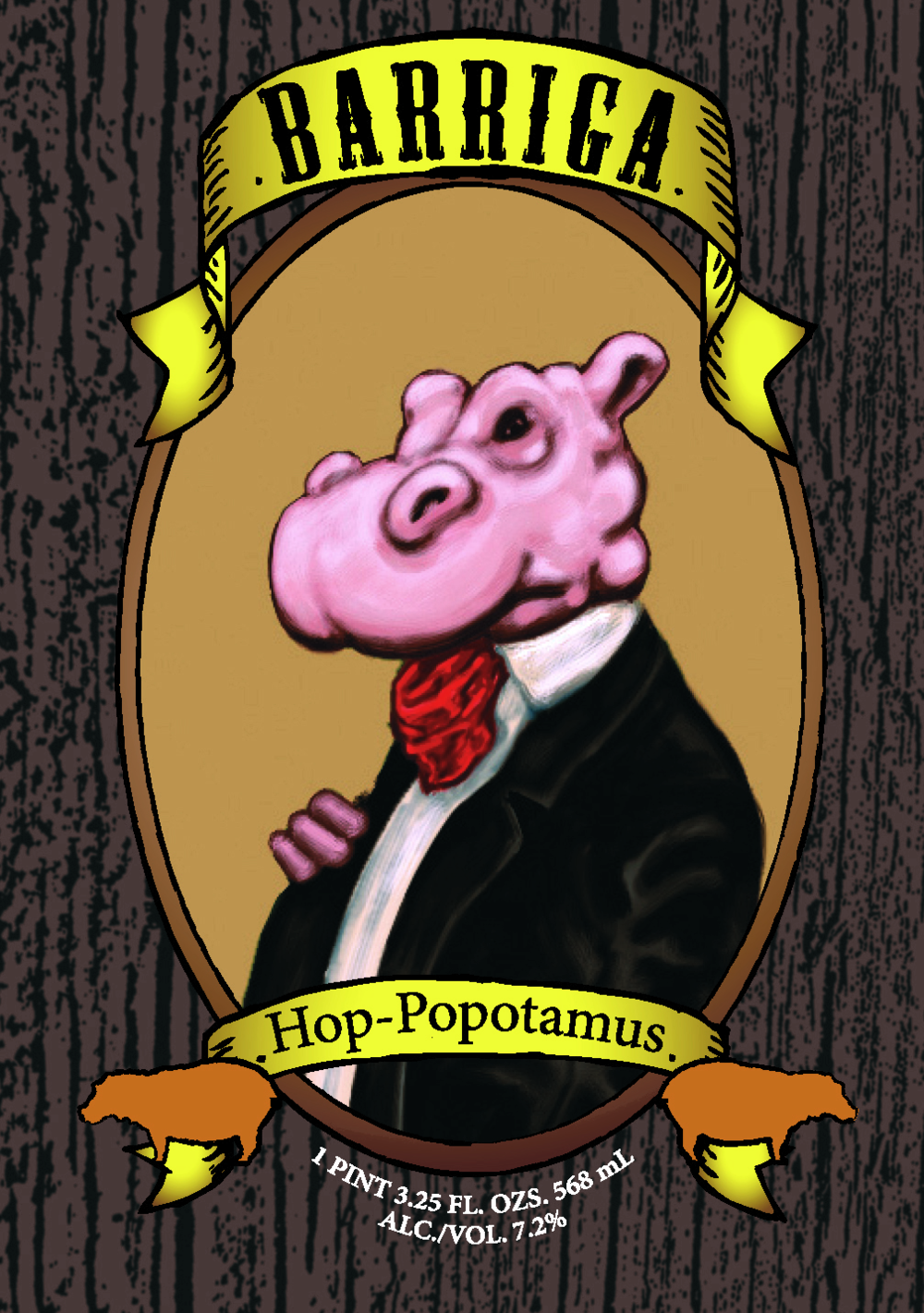 Hop-Popotamus label