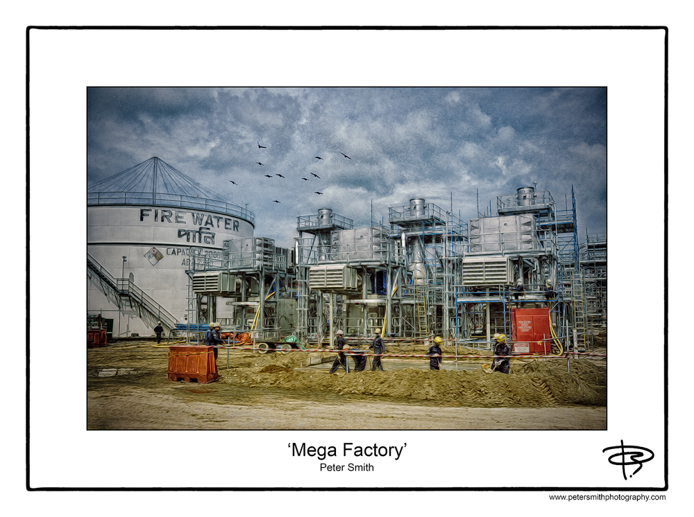 Number 21, 2014, 'Mega Factory'