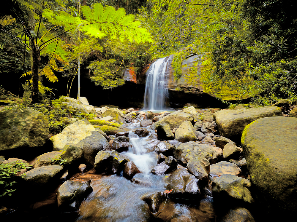 Serenity Water Fall