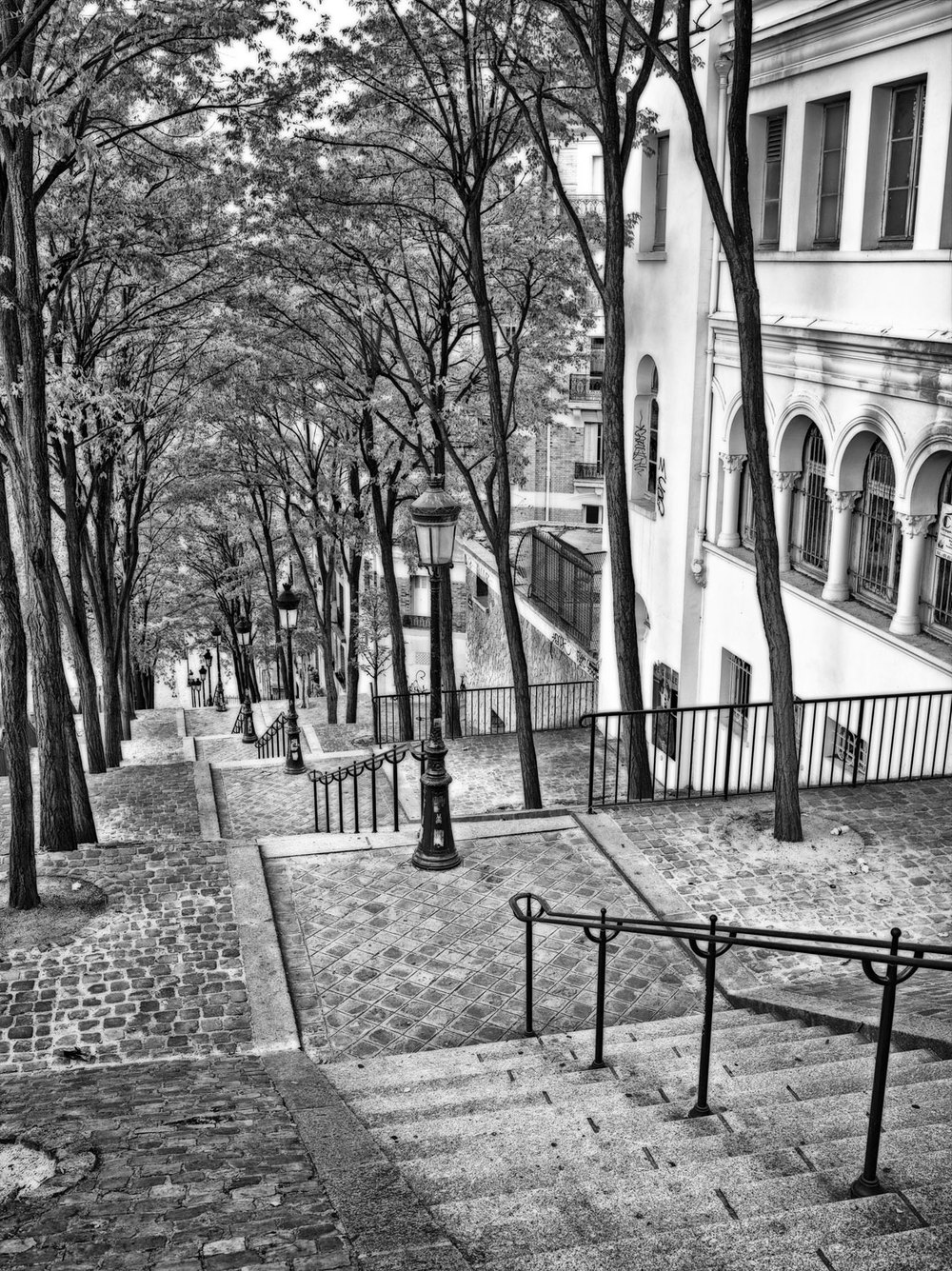 Paris Sacre Coeur Steps