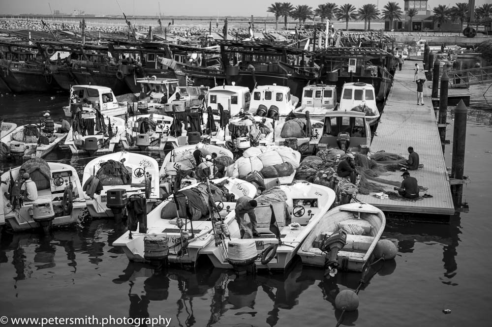 The Old and new fishing fleet