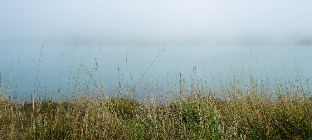 Mist over Lake Dunstan